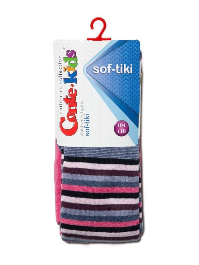 Children's tights CONTE-KIDS SOF-TIKI, s.104-110 (16),395 pink - 2