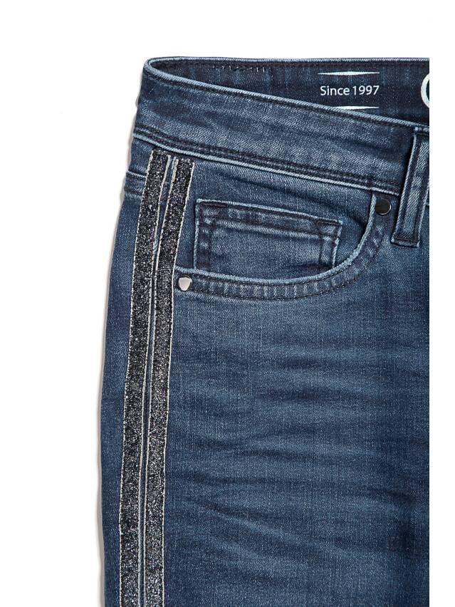 Denim trousers CONTE ELEGANT CON-99, s.170-90, navy - 5