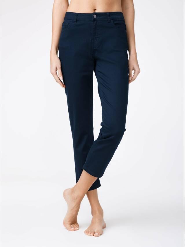 Denim trousers CONTE ELEGANT CON-139B, s.170-102, dark navy - 1