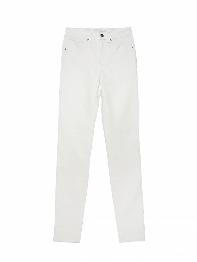 Skinny push up jeans with Mid rise CON-228, s.170-102, white - 4