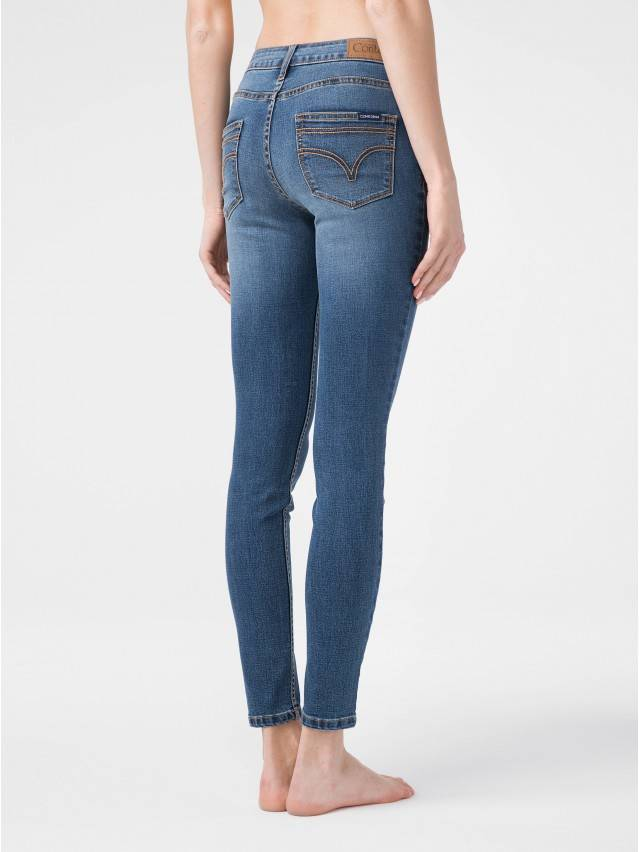 Denim trousers CONTE ELEGANT CON-182, s.170-102, authentic blue - 2