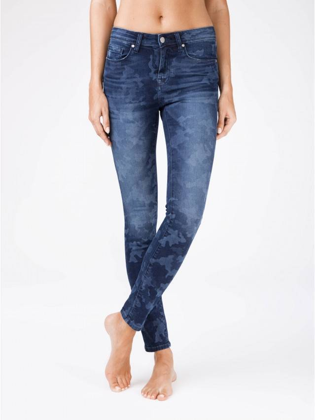 Denim trousers CONTE ELEGANT CON-93, s.170-102, navy - 1