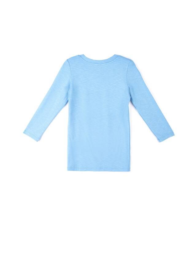 Women's polo neck shirt CONTE ELEGANT LD 478, s.158,164-100, blue - 3