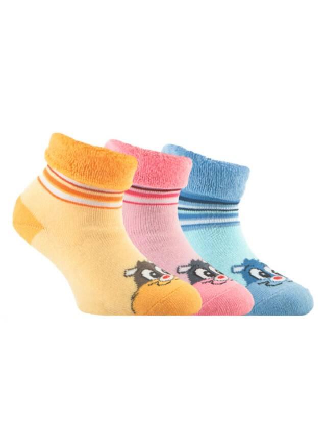 Children's socks CONTE-KIDS SOF-TIKI, s.14, 106 light yellow - 1