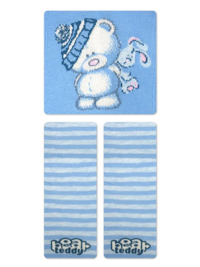 Children's tights CONTE-KIDS TIP-TOP, s.62-74 (12),331 blue - 4