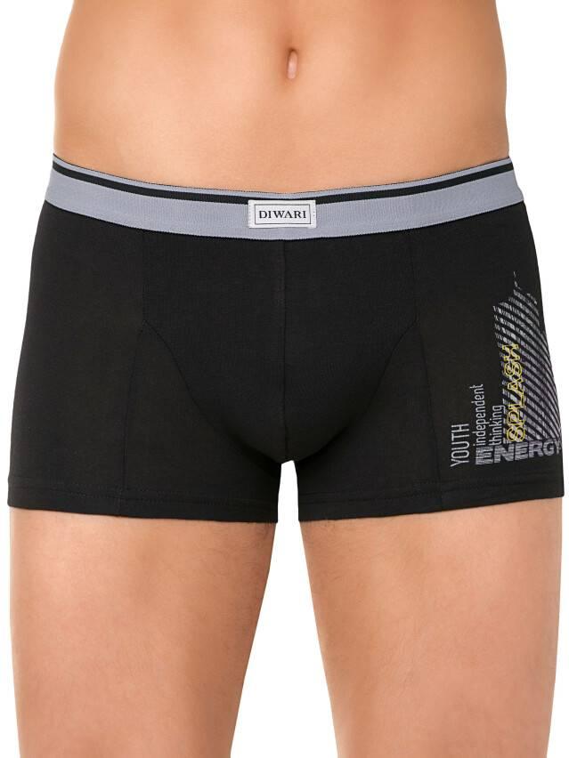 Men's pants DiWaRi TATTOO MSH 408, s.102,106/XL, nero - 1