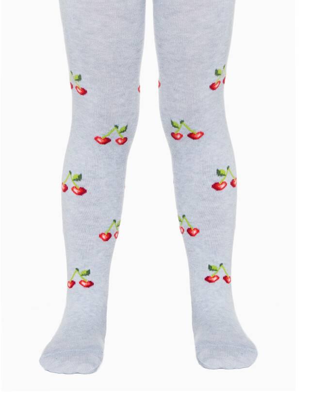 Children's tights CONTE-KIDS TIP-TOP, s.104-110 (16),359 light grey - 1