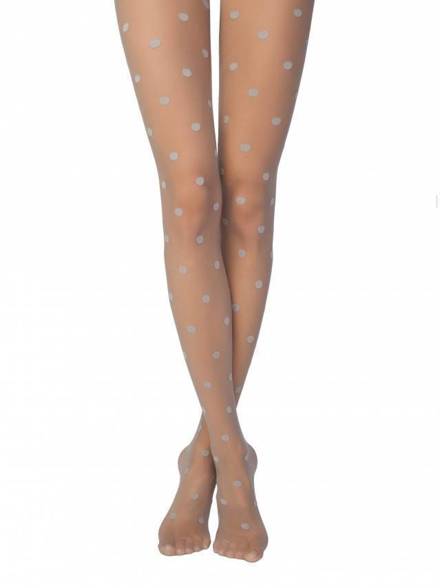 Women's tights CONTE ELEGANT PARADISE, s.2, cacao - 1