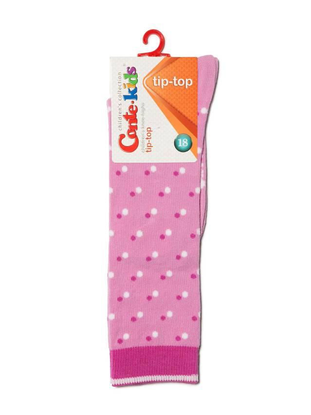 Children's knee high socks CONTE-KIDS TIP-TOP, s.18, 037 mallow - 2