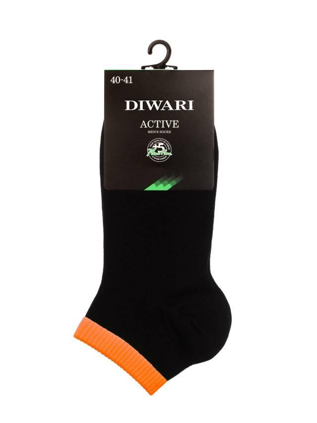 Men's socks DiWaRi ACTIVE, s. 40-41, 068 black-orange - 2