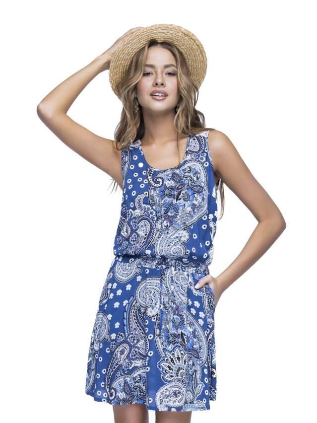 Women's gown CONTE ELEGANT LPL 529, s.164-84-92, dark blue - 1