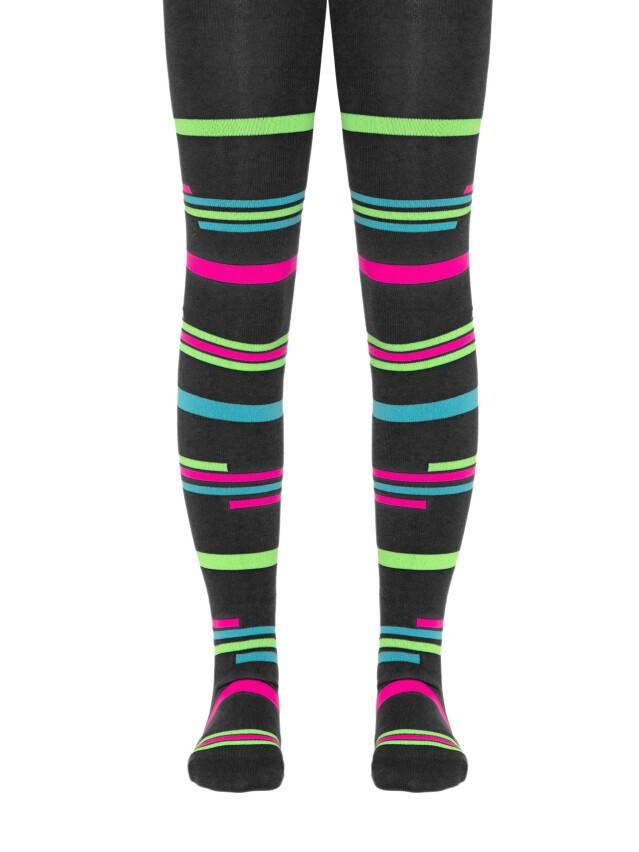 Children's tights CONTE-KIDS TIP-TOP, s.140-146 (22),123 graphite - 1