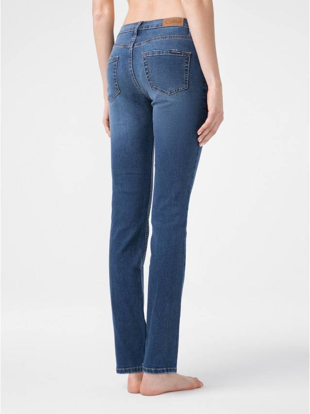 Denim trousers CONTE ELEGANT CON-152, s.164-98, authentic blue - 2