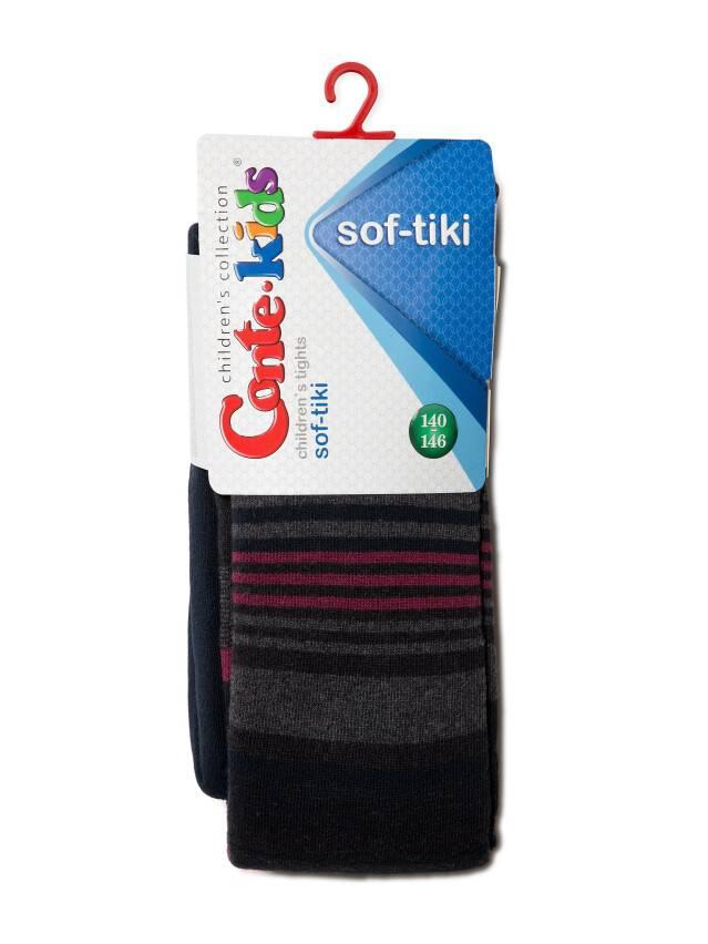 Children's tights CONTE-KIDS SOF-TIKI, s.140-146 (22),399 navy - 2