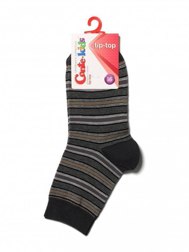 Children's socks CONTE-KIDS TIP-TOP, s.16, 195 khaki - 2