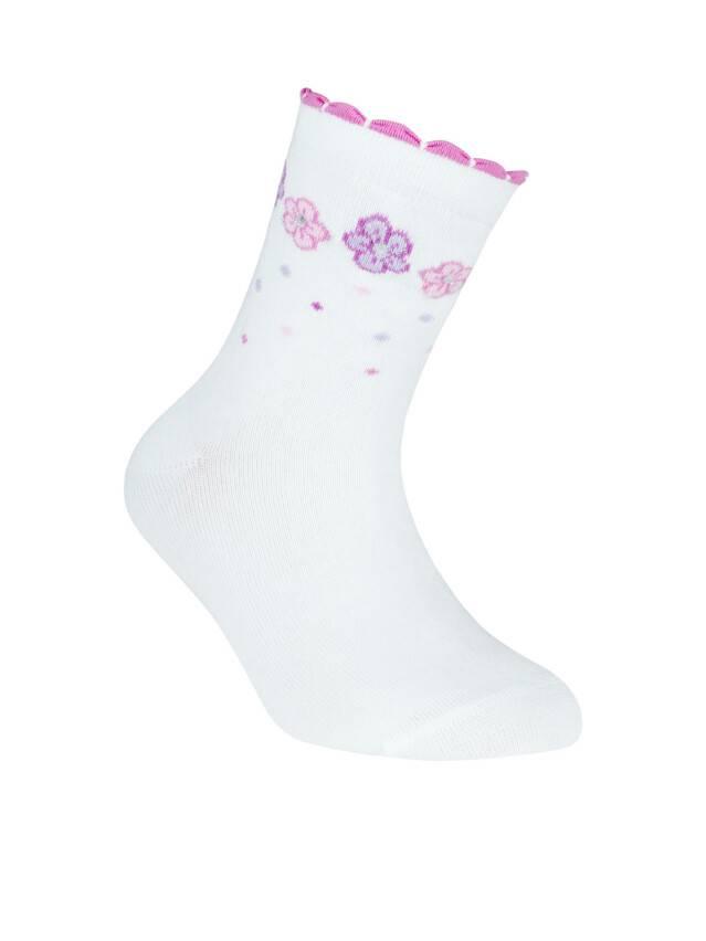 Children's socks CONTE-KIDS TIP-TOP, s.22, 251 white - 1