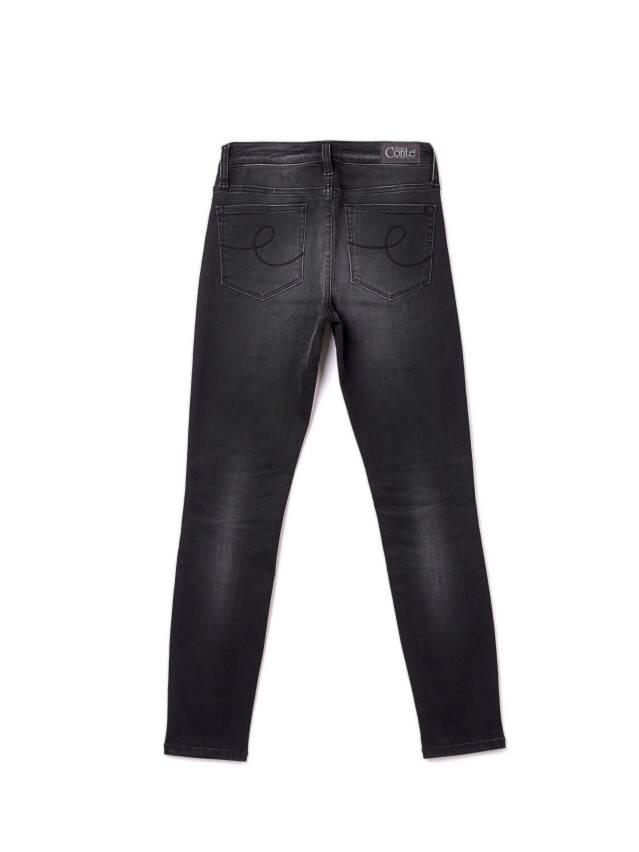 Denim trousers CONTE ELEGANT CON-97, s.170-102, black - 4
