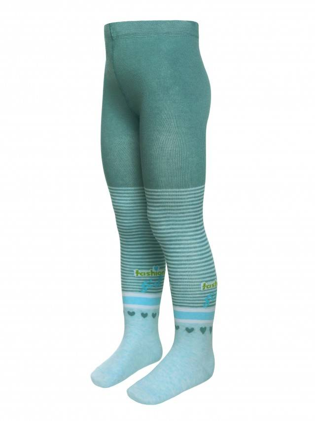 Children's tights CONTE-KIDS TIP-TOP, s.104-110 (16),400 turquoise - 1