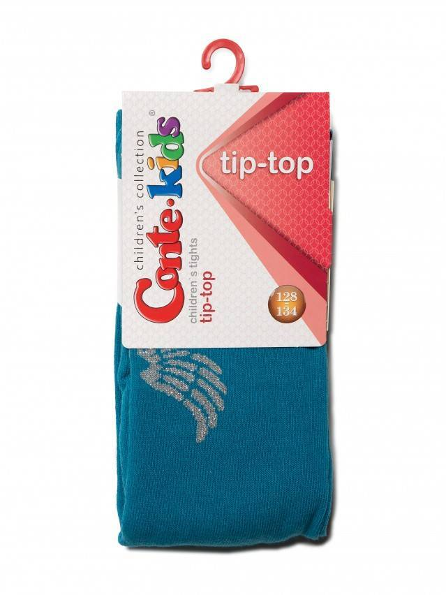 Children's tights CONTE-KIDS TIP-TOP, s.128-134 (20),411 turquoise - 3