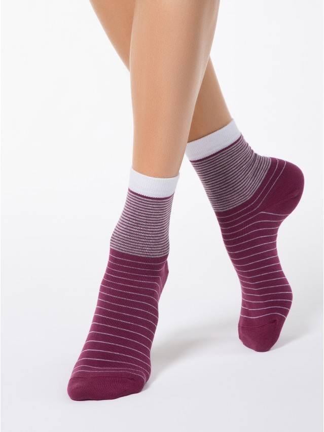 Women's socks CONTE ELEGANT CLASSIC, s.23, 058 mauve - 1