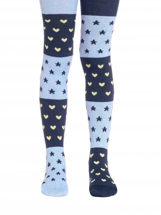 Children's tights CONTE-KIDS TIP-TOP, s.116-122 (18),405 dark denim-blue - 1