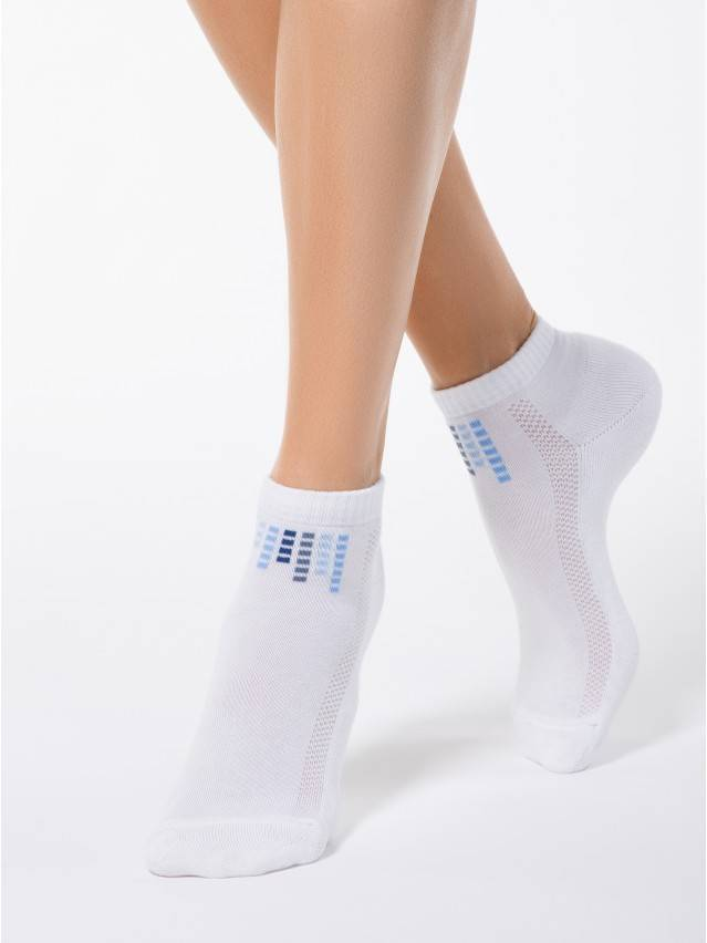 Women's socks CONTE ELEGANT ACTIVE, s.23, 017 white - 1