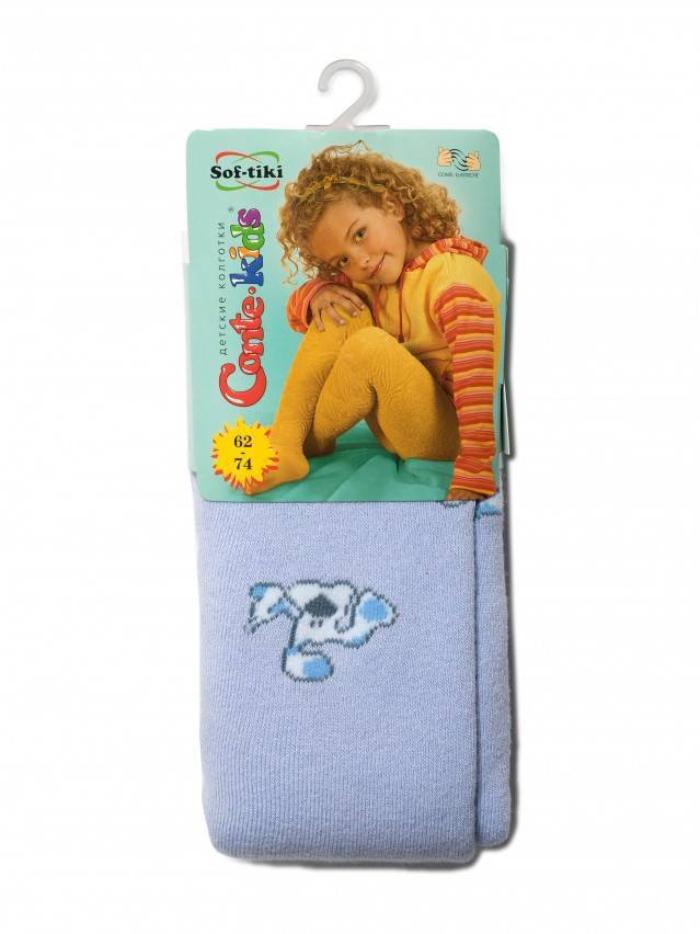 Children's tights CONTE-KIDS SOF-TIKI, s.62-74 (12),193 pale violet - 2