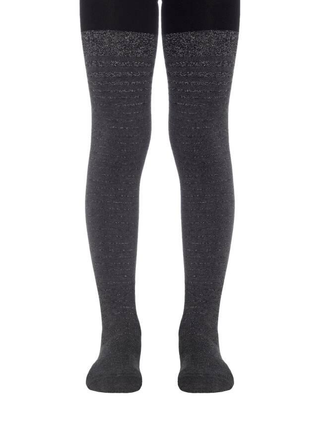 Children's tights CONTE-KIDS TIP-TOP, s.140-146 (22),412 black-dark grey - 1