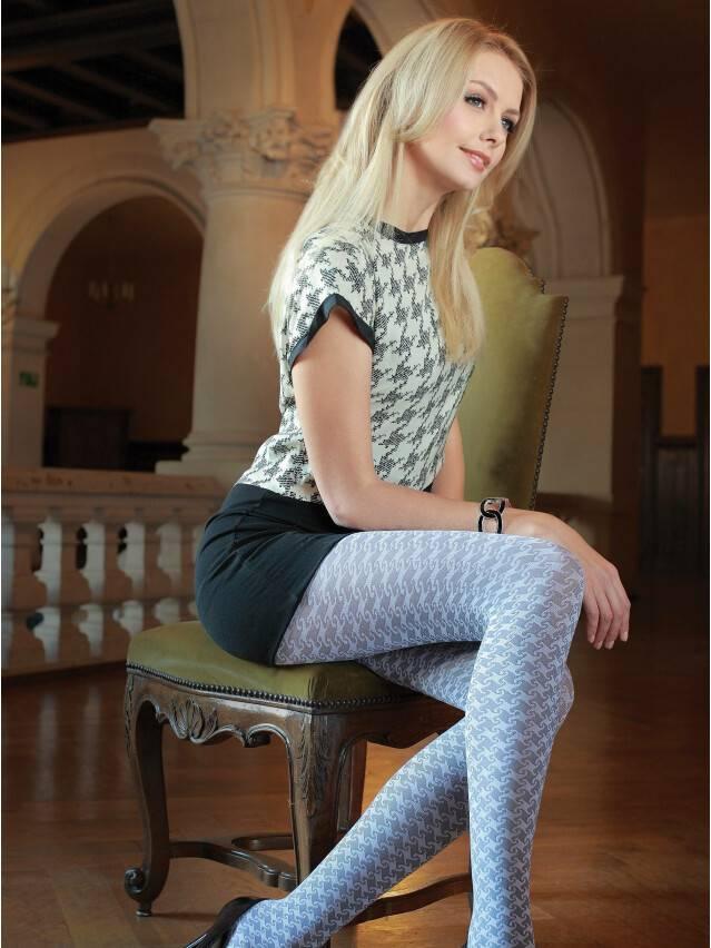 Women's tights CONTE ELEGANT CHANTAL, s.3, grey - 1