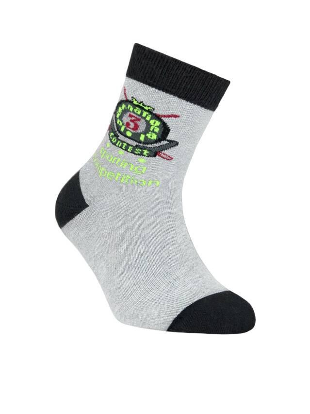Children's socks CONTE-KIDS TIP-TOP, s.24, 205 grey - 1