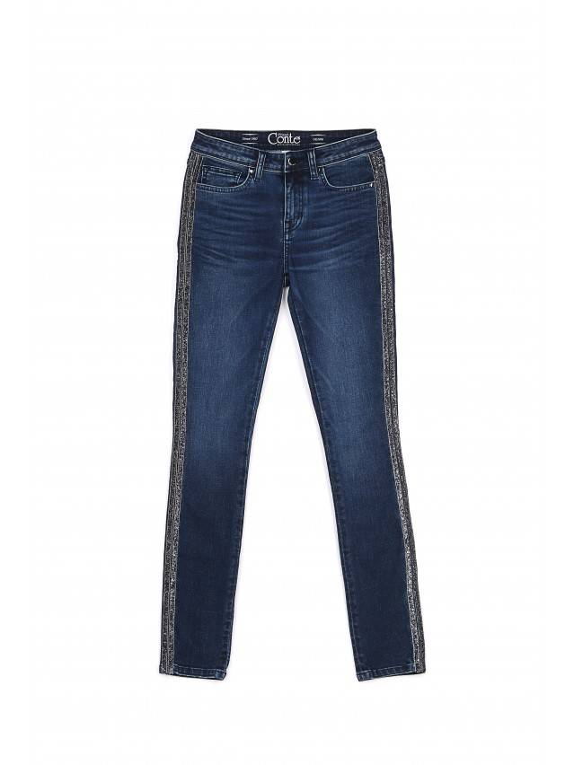 Denim trousers CONTE ELEGANT CON-99, s.170-90, navy - 3