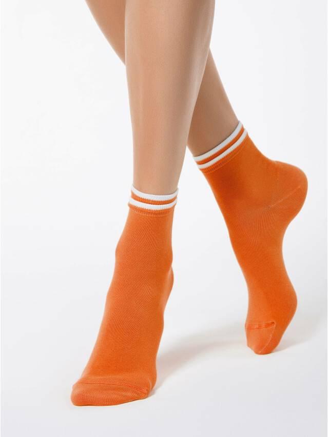 Women's socks CONTE ELEGANT CLASSIC, s.23, 010 orange - 1