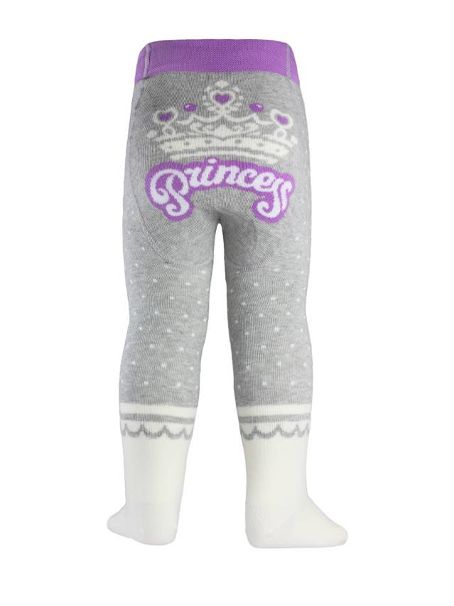 Children's tights CONTE-KIDS TIP-TOP, s.62-74 (12),383 grey-cappuccino - 2