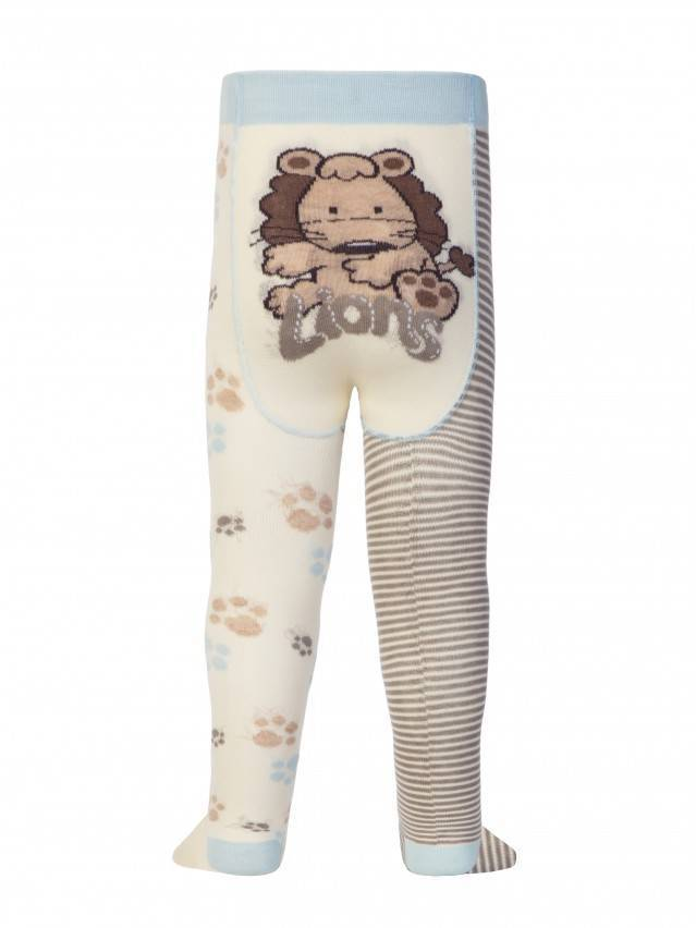 Children's tights CONTE-KIDS TIP-TOP, s.62-74 (12),356 cappuccino-grey - 1
