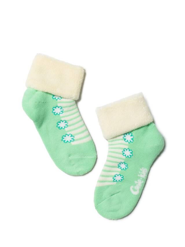 Children's socks CONTE-KIDS SOF-TIKI, s.12, 074 cream-light green - 1