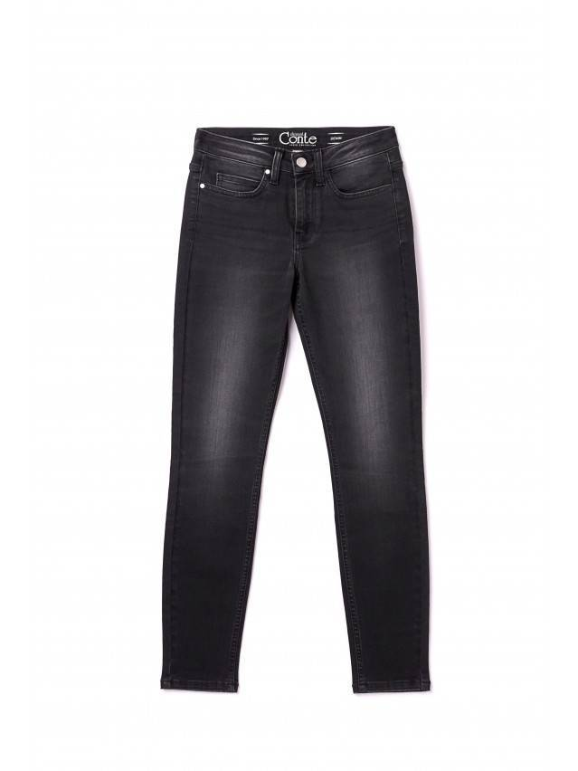 Denim trousers CONTE ELEGANT CON-97, s.170-102, black - 3