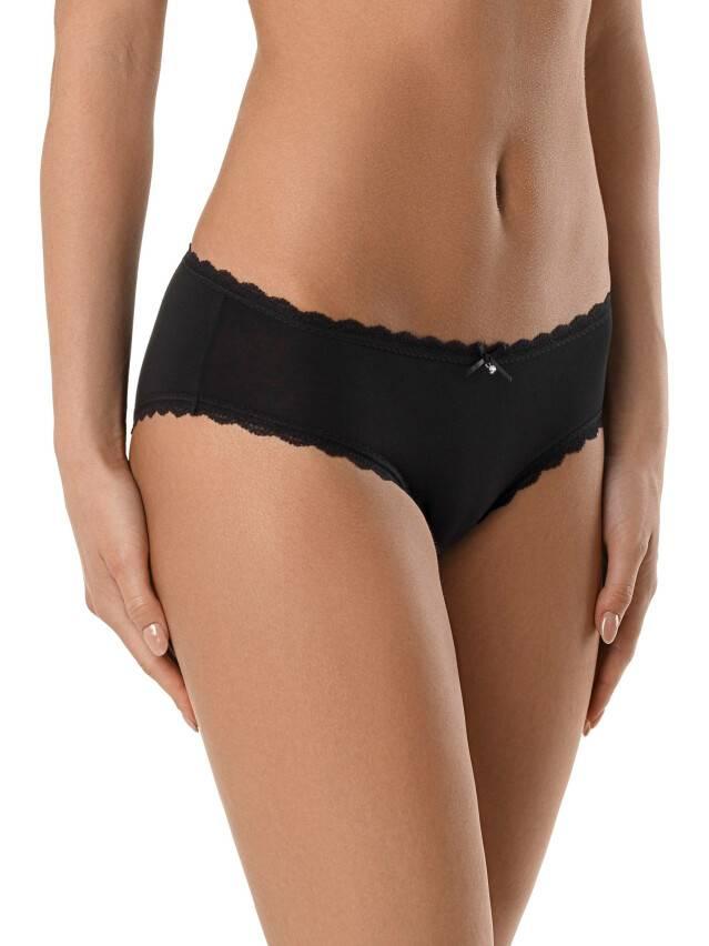 Women's panties CONTE ELEGANT SECRET CHARM LHP 988, s.90, black - 1