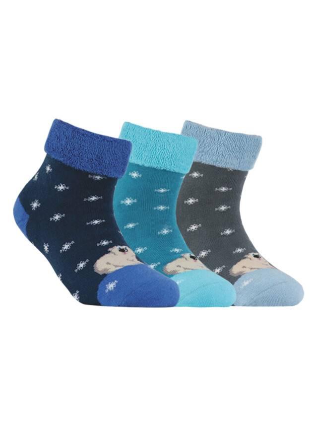 Children's socks CONTE-KIDS SOF-TIKI, s.16, 060 navy - 1