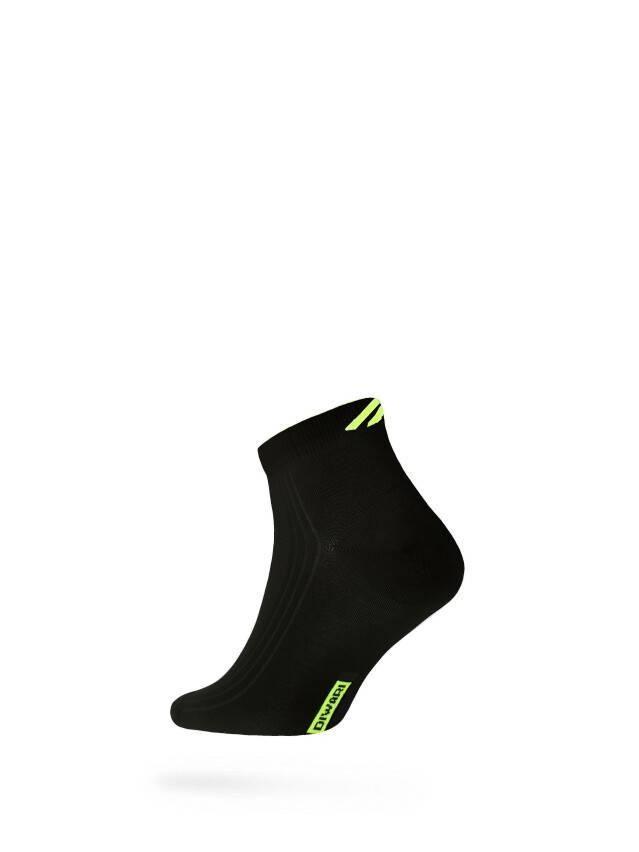 Men's socks DiWaRi ACTIVE, s. 40-41, 018 black-lettuce green - 1