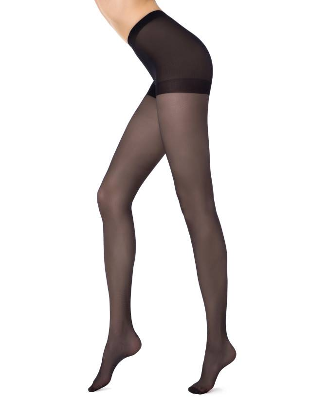 Women's tights CONTE ELEGANT SOLO 20, s.2, nero - 1