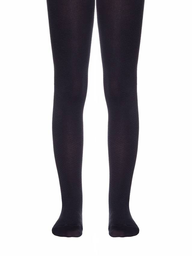 Children's tights CONTE-KIDS CLASS, s.128-134 (20),192 black - 1