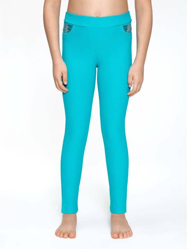 Leggings for girls CONTE ELEGANT PINA, s.110,116-56, blue - 2