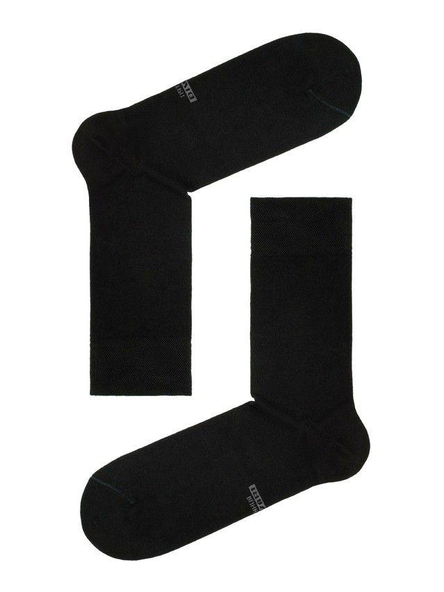 Men's socks DiWaRi CLASSIC '7 days' (7 pairs),s. 40-41, 100 black - 1
