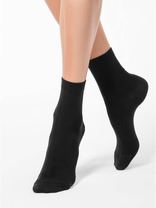 Women's socks CONTE ELEGANT CLASSIC, s.23, 000 black - 1
