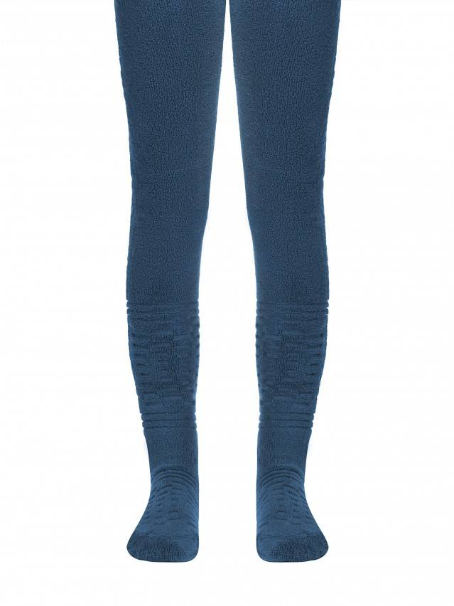 Children's tights CONTE-KIDS SOF-TIKI, s.116-122 (18),342 denim - 1