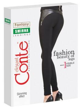 Women's leggings SMIRNA 14С-592ЛСП, размер 164-102, цвет nero