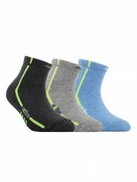 children's cotton socks ACTIVE (короткие) 7С-97СП, размер 14, цвет голубой