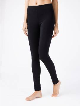 women's leggings CONTE ELEGANT WONDER SLIM 18С-551ТСП, размер 170-102, цвет nero