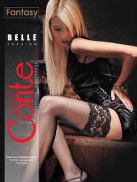 women's stockings BELLE-CLASS 20 8С-90СП, размер 1-2, цвет bronz