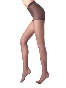 Women's polyamide tights SHAKE 14С-107СП, размер 2, цвет nero